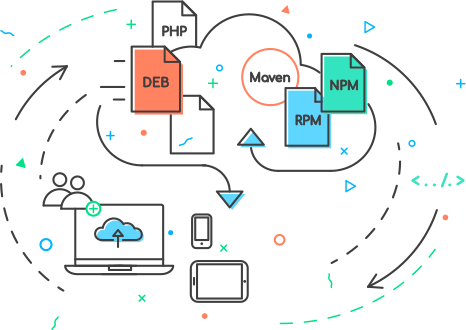 RpmDeb - RpmDeb is a hosted solution to create private cloud Maven, NPM, RPM and Debian package repositories.