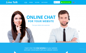 Lime Talk - Online chat for your website