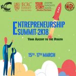 "ENTREPRENEURSHIP SUMMIT -""Your Ascent To The Zenith""- 15th-17th March – Jaipur"