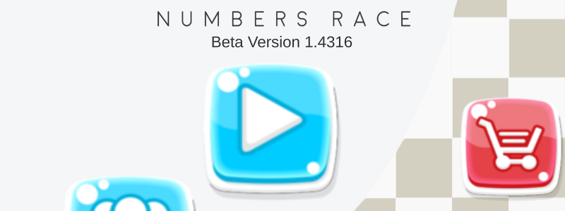 Numbers race is a unique numbers puzzle game that teases your brain