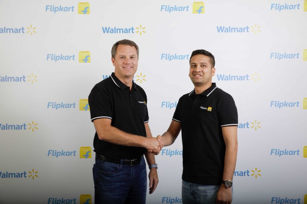 Walmart has acquired a controlling stake in Flipkart