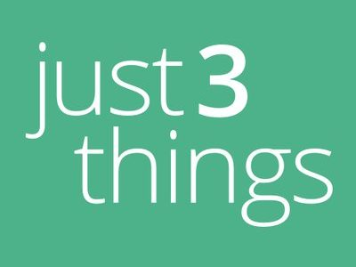 Just3Things – unique SaaS platform