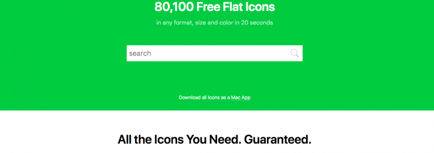 Icons8 – Library of design resources
