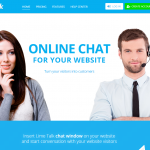Lime Talk – Online chat for your website