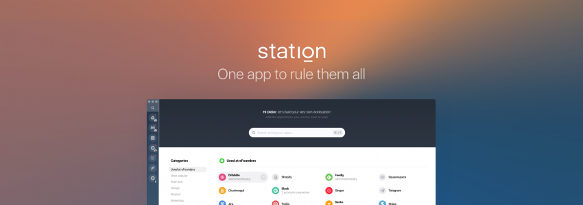 Station – One app to rule them all